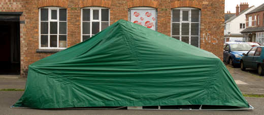Cover Systems Own Brand Folding Garages For Cars
